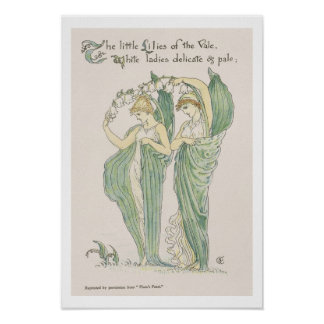 Lilies of the Vale, from Flora's Feast, 1901 (colo Print
