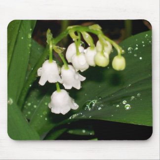 lilies of the valley mouse pad