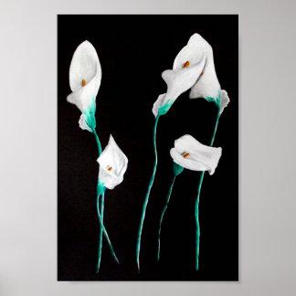 Lilies Poster Print Medium 24x20