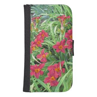 Lilies Samsung Wallet Case