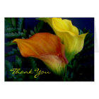 Lilies Thank You Greeting Card