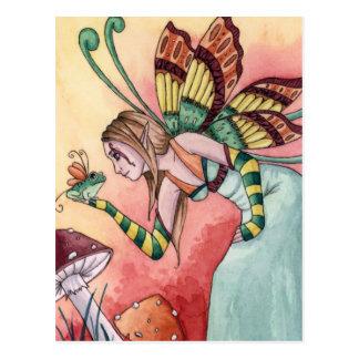 Lilith - Frog Fairy Postcard