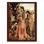 Lilium Auratum By Lewis John Frederick</ Postcard