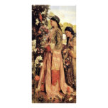 Lilium Auratum By Lewis John Frederick</ Custom Rack Card