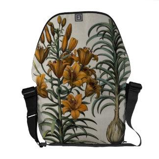 Lilium purpureum mauis Do danei and Scapus cum bul Courier Bags