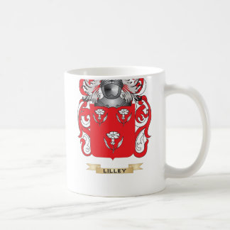 Lilley Coat of Arms Family Crest Mug
