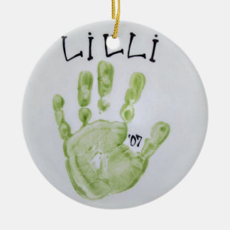 Lilli Hand Christmas Ornament