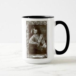 Lillian Gish 1914 vintage Hollywood portrait mug