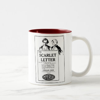 Lillian Gish THE SCARLET LETTER 1927 Two-Tone Mug