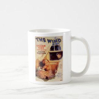 Lillian Gish The Wind movie poster Basic White Mug