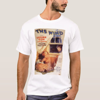 Lillian Gish The Wind movie poster T-Shirt