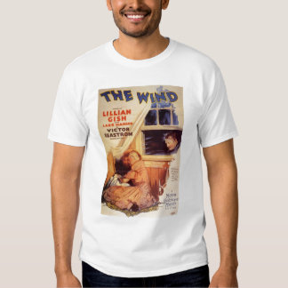 Lillian Gish The Wind movie poster Tees