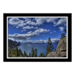 Lillian Photography HDR Lake Tahoe Poster