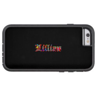 Lillian Tough Xtreme Style iPhone 6 case on Black Tough Xtreme iPhone 6 Case