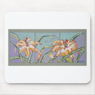 Lillies of the field mousepads
