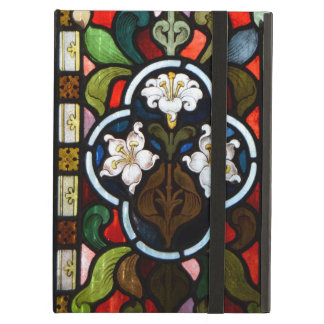 Lillies Stained Glass StColumb Minor Cornwall iPad Air Covers