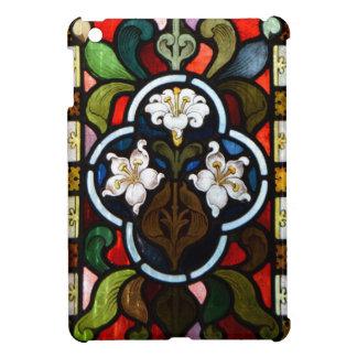 Lillies Stained Glass StColumb Minor Cornwall iPad Mini Cases