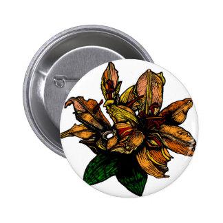 Lilly 6 Cm Round Badge