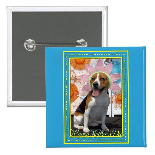 Lilly - Beagle -2F 15 Cm Square Badge