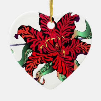 Lilly Christmas Ornament