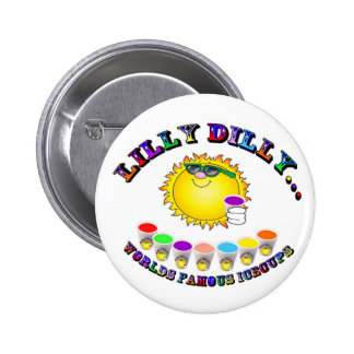 Lilly Dilly 6 Cm Round Badge