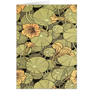 Lilly Flowers Greeting Cards