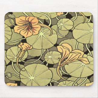 Lilly Flowers Mouse Mat