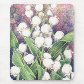 Lilly of the Valley Mouse Mat
