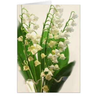 Lilly of the Valley Note Card
