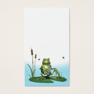 Lilly-pad Frog Business Card