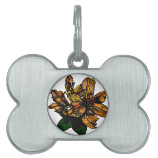 Lilly Pet Name Tag