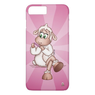 Lilly The Sheep At The Manicure Spa - Phone Cover