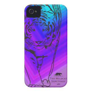Lilly - Tiger iPhone 4/4S Case Blue/Purple