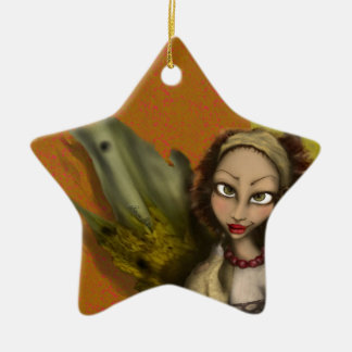 Lily Angel Christmas Ornament