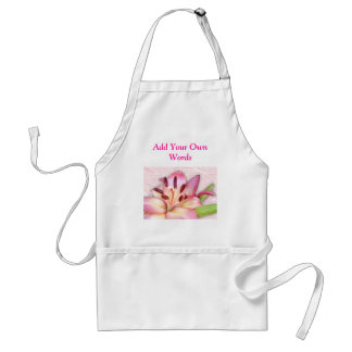 Lily Apron-add your own words Standard Apron