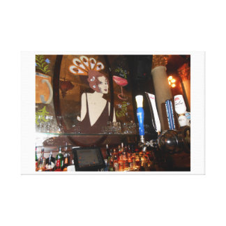 Lily Bar Canvas Print