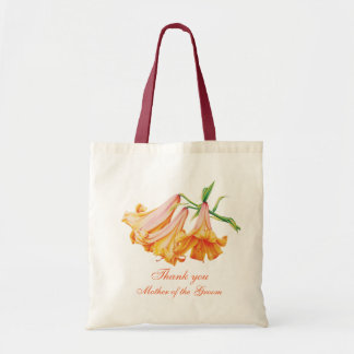 Lily bell art wedding Mother of the Groom bag
