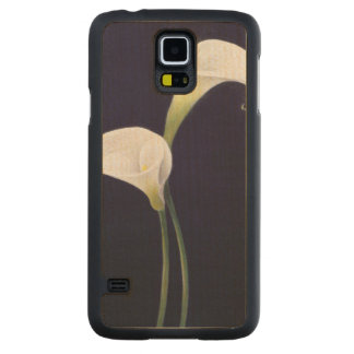 Lily Carved Maple Galaxy S5 Case