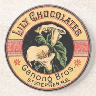 Lily Chocolates Coasters