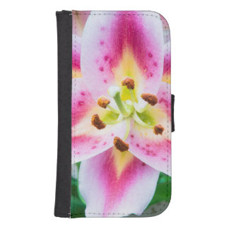 Lily Close-up Samsung S4 Wallet Case