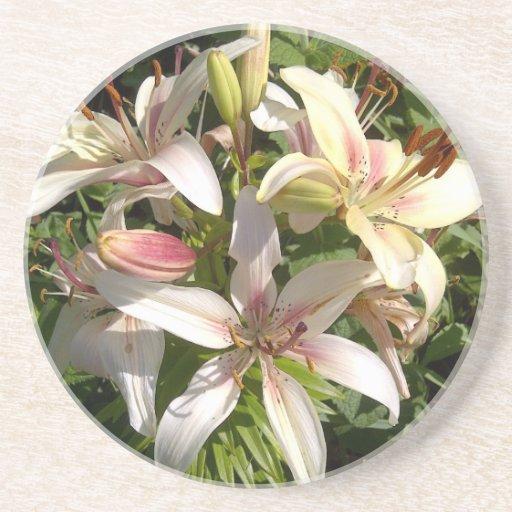 Lily Cluster.jpg Beverage Coasters