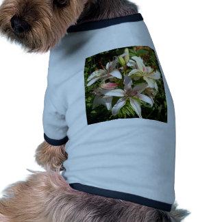 Lily Cluster.jpg Dog Tshirt
