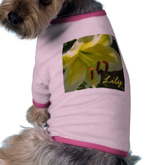 Lily Dog Shirt
