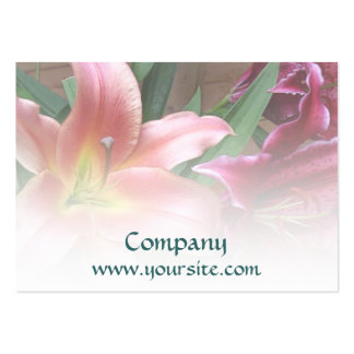 Lily Duo Floral Business Card