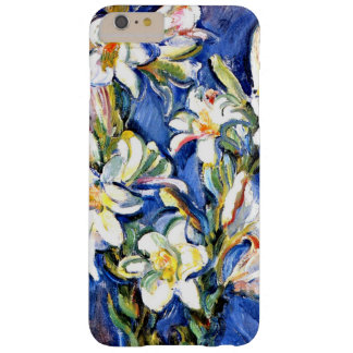 Lily, floral painting barely there iPhone 6 plus case