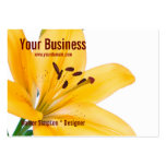 Lily Flower Business Card
