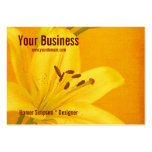 Lily Flower Large Business Cards (Pack Of 100)