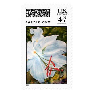 Lily Flower, Postage Stamp