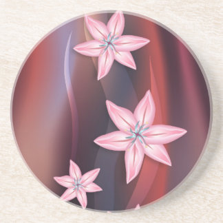 Lily Flowers Coaster