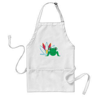 Lily Frog Standard Apron